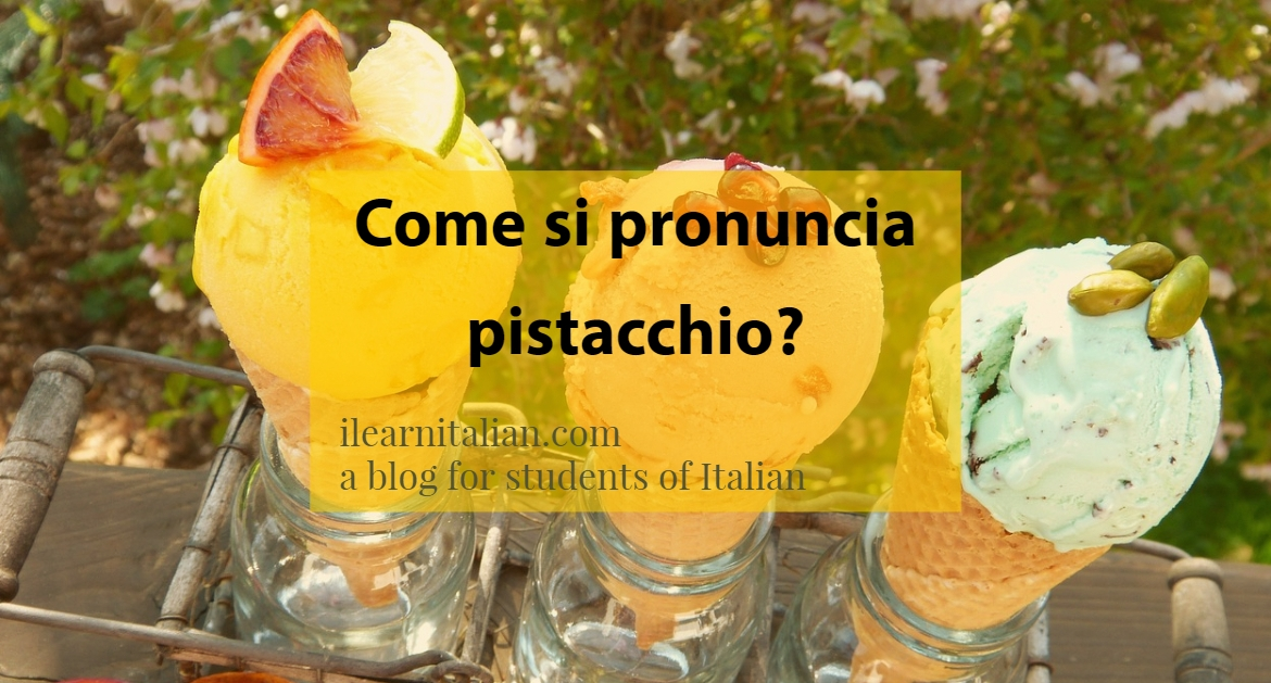 Pronounce Italian right!Come si pronuncia?