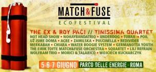 Roma: Match & Fuse- 3 giorni di musica-70 musicisti