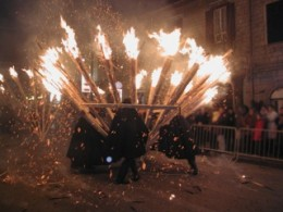 Burning the old year:'Ndocciata in Agnone
