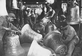 The oldest bell foundry in the world is in a small Italian town: Agnone