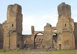 Video: Baths of Caracalla in Rome and art in the bin..