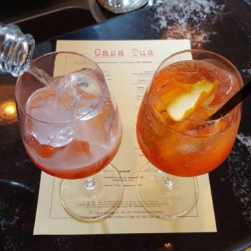 22nd of June: La Chiacchiera Spritz@Casa Tua, King's Cross
