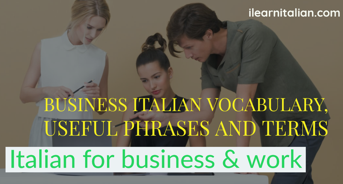 Che lavoro fai? Talking about jobs and your daily routines in Italian