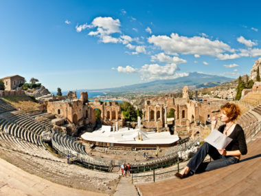 Where to study Italian: Taormina, Sicily