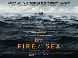 1st December- Fire at sea by Gianfranco Rosi in London