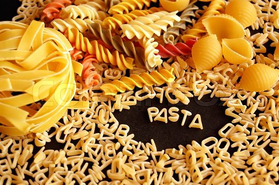 Learn Italian words: la pasta!