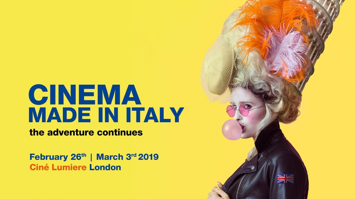 Competition:Win 2 tickets for Cinema Made in Italy Festival 2019