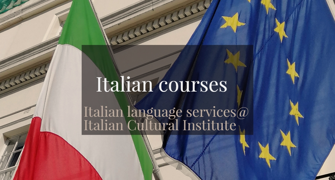 Italian courses- Italian language services @ Italian Cultural institute from 29 April