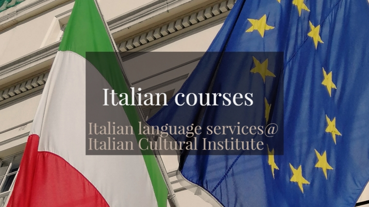 Italian courses- Italian language services@ Italian Cultural Institute from 23 September