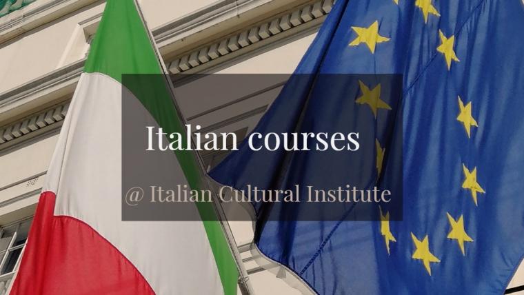 Italian courses- New term-Italian language services@ Italian Cultural Institute from 20 January