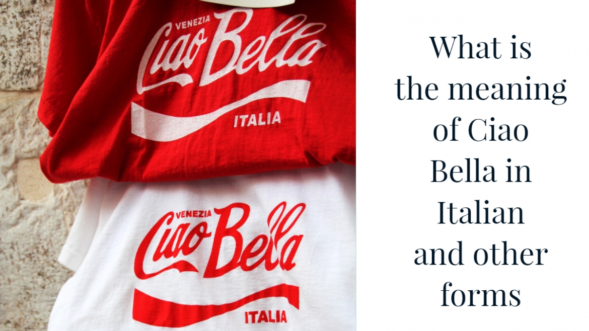 What is the difference between bella, bello, bel, bei…