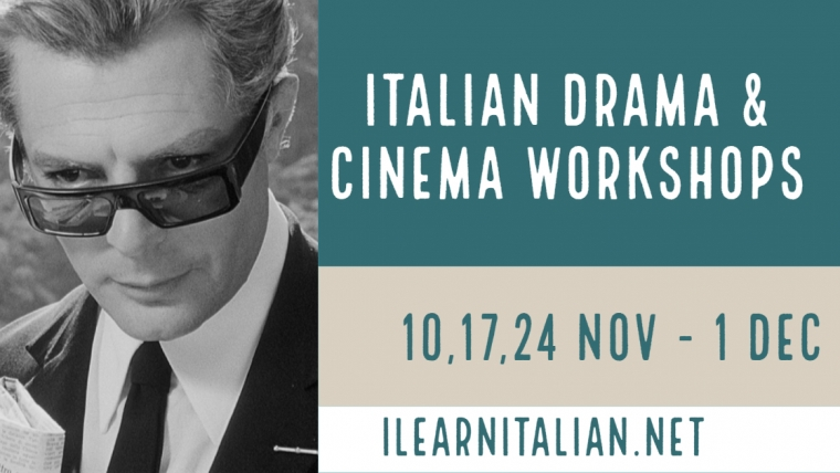 Italian language services workshops @Italian Cultural Institute