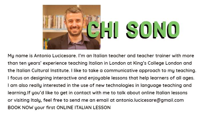 italian online lesson