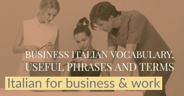 Italian for Business: how to write a formal email