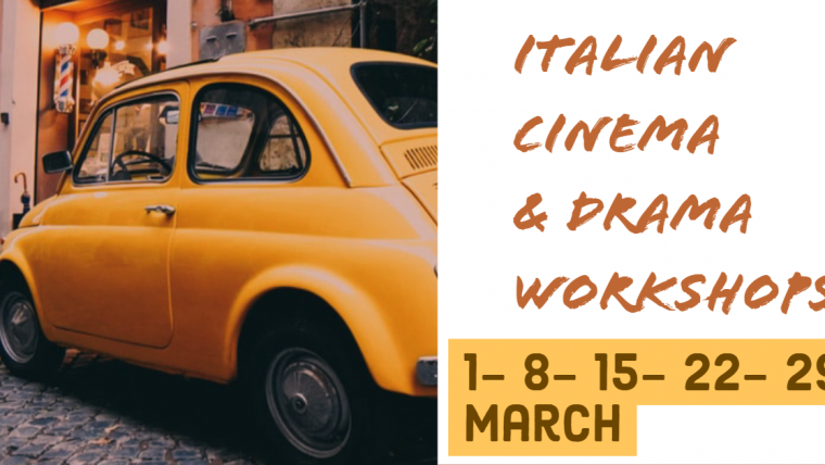 Italian language services Workshops @Italian Cultural Institute- March 2020