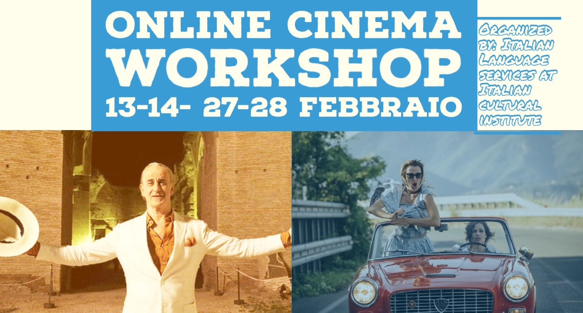 Online Cinema workshop- 13,14,27,28 February