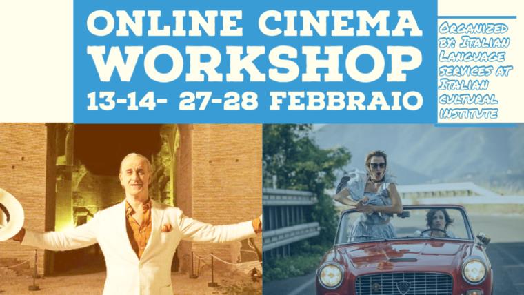 Online Cinema workshop- 13,14,27,28 February