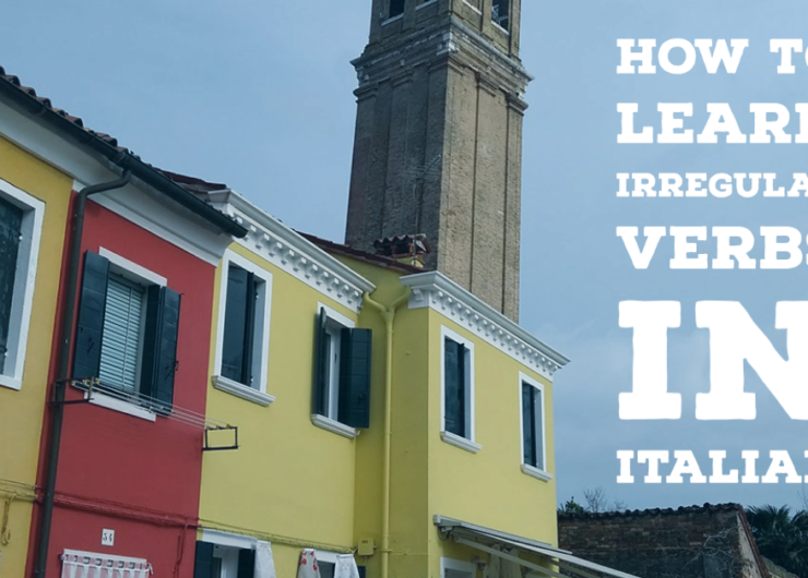 Tips for irregular verbs in Italian