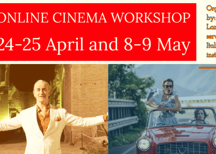 Online Cinema workshop- 24, 25 April – 8, 9 May