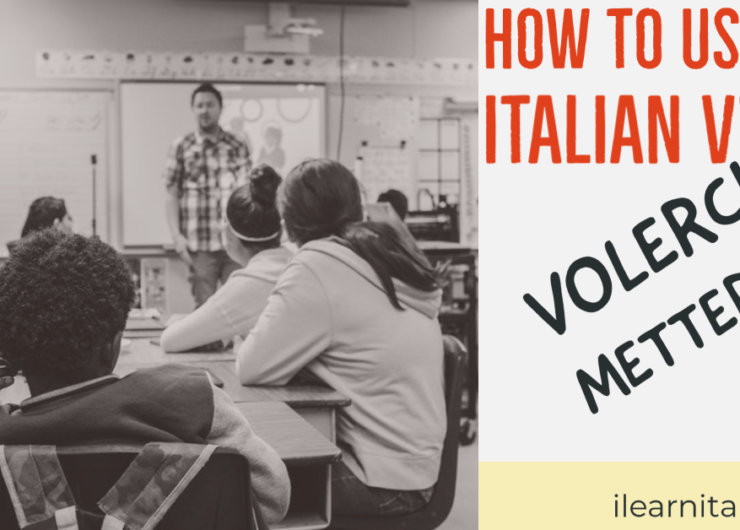 """How to use """"Volerci"""" and """"Metterci"""" in Italian"""